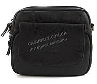 Удобная маленькая прочная мужская сумка с качественной PU кожи SAIFILO art. SF2002B черный