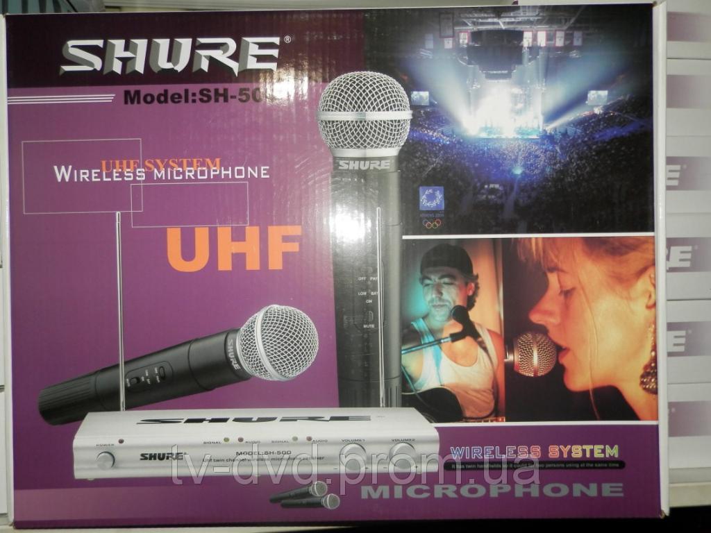 Shure SH-500 База UHF 2 Радиомикрофона