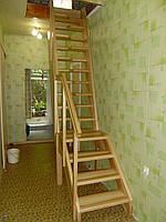 Мотыльковая лестница с площадкой