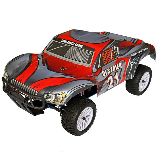 Автомобиль HSP Racing Destrier Nitro Short Course 1:10 RTR HSP94155 Grey-Red