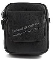 Удобная маленькая прочная мужская сумка с качественной PU кожи SAIFILO art. SF2002 черный