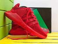 Красные Мужские Кроссовки Adidas EQT арт.10115, фото 1