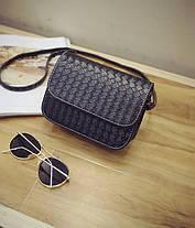 Стильная Fashion сумка-клатч с плетением, фото 2