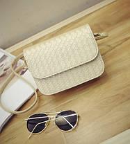 Стильная Fashion сумка-клатч с плетением, фото 3