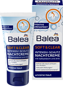 Ночной крем Balea Soft & Clear Intensiv-Schutz