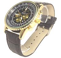 Часы наручные копия с календарем мужские  с надписью BREITLING