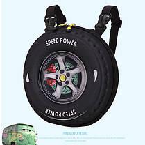 Оригинальный рюкзак-сумка в форме колеса, фото 3