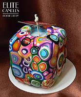 Квадратна свічка ELITE CANDLES для декору або подарунка, відмінний вибір