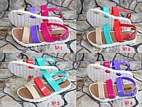 Детские силиконовые босоножки для девочки, обувь для пляжа