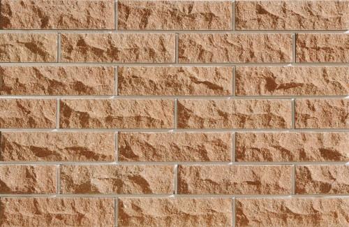 Плитка фасадная LAND BRICK скала персиковая 250х20х65 мм