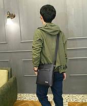 Классическая мужская сумка почтальон, фото 2