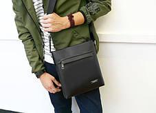 Классическая мужская сумка почтальон, фото 3