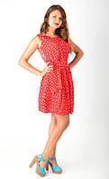 Интересное летнее короткое платье
