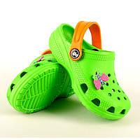 Сабо детские Jose Amorales зеленые 220012