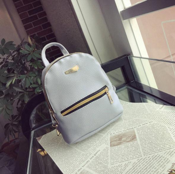 Нежный мини рюкзак городского типа