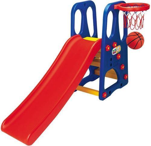 Детская горка Bambi ТВ 200 с баскетбольным кольцом