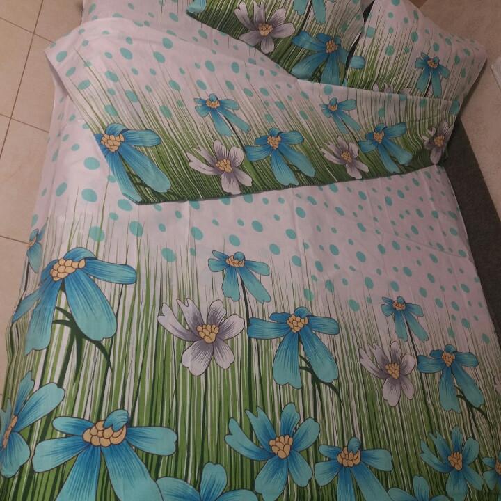 Двохспальний постільний комплект -Казкова поляна бірюза  продажа ... 24fc4ebc6dbbf