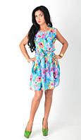 Красивое платье в нежный цветочный принт