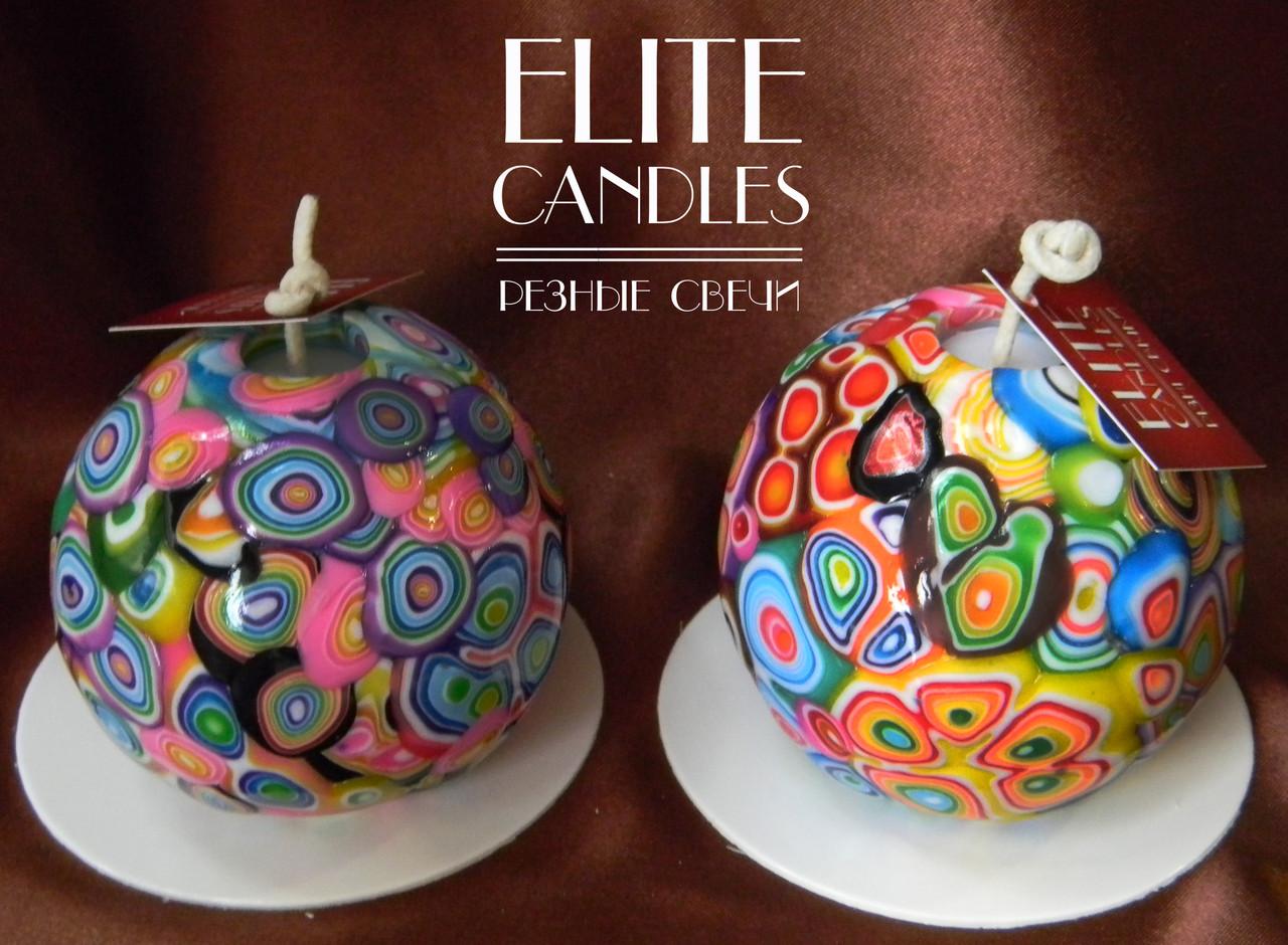 Круглые свечи ELITE CANDLES - только оригинальные декоративные свечи ручной работы