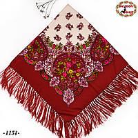 Павлопосадский платок  Весенняя нежность