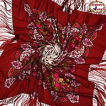 Павлопосадский платок  Весенняя нежность , фото 2