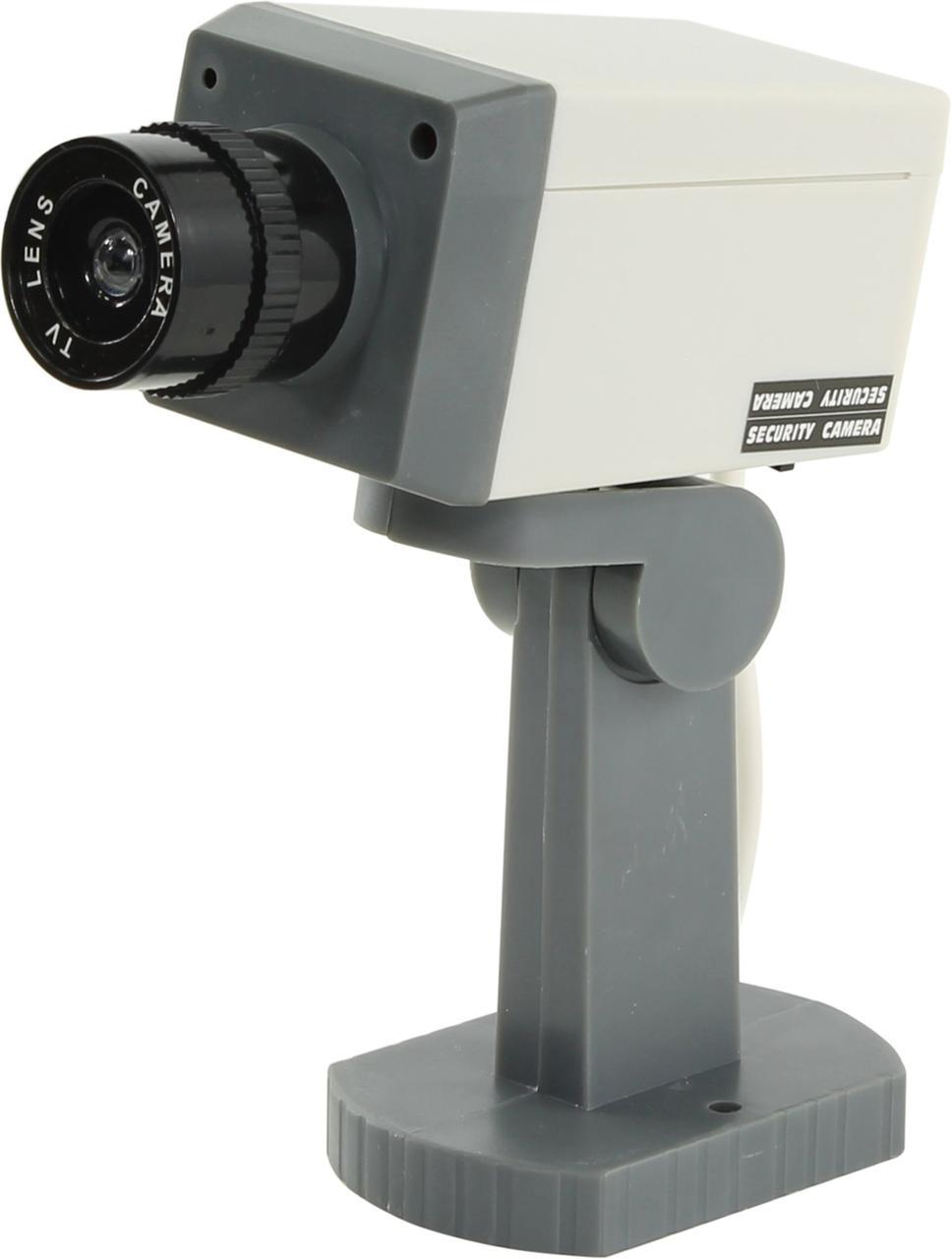 Камера наблюдения муляж с датчиком двжения и мотором