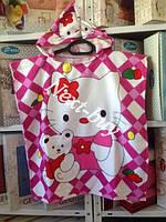 Пляжное пончо с капюшоном Hello Kitty Турция