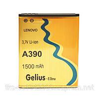 Аккумулятор Gelius Ultra для мобильного телефона Lenovo A390, A376 (1500 mAh)