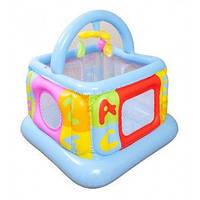 Надувной детский игровой центр манеж - батут Intex, 48473