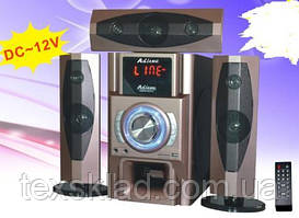 Караоке акустика 3.1 E-53 (USB/Bluetooth/FM-радіо)