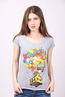 Молодежная женская футболка