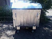 Мусорный контейнер 1,1 м3 оцынкованый