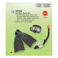 Детский набор для дайвинга Intex, 55959 (маска, трубка, ласты)