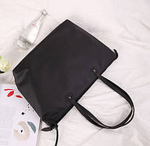 Большая женская сумка с косичками, фото 3