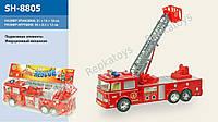 Инерционная пожарная машина, подвижная стрела, в пакете (ОПТОМ) SH-8805