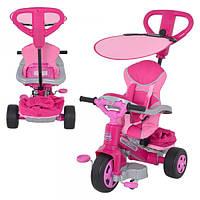 Детский трехколесный велосипед  Feber Baby Twist Nina 800007099, розовый