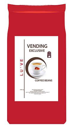 Кофе натуральный жареный в зернах Lu've Vending Exclusive 1кг, фото 2