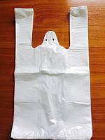 Пакет полиэтиленовый «Майка» белая №2 240х430 мм (О)