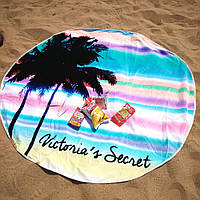 Пляжный коврик с рисунком Море, солнце, пальмы 002PDS подстилки и парео для пляжа