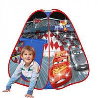 Детская палатка - тент с LED подсветкой Тачки John 72512