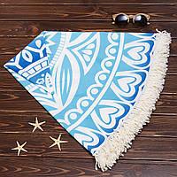 Красивый коврик для бассейна и пляжа 005PDS