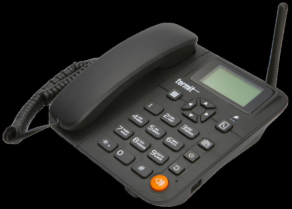 Телефон GSM для пожилых людей Termit FixPhone V 2 с русским языком и большими кнопками
