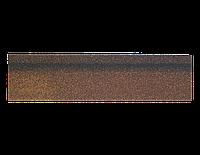 Плитка коньково-карнизная для битумной черепицы Технониколь Shinglas (коричневая)