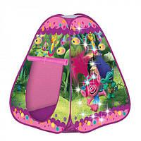 Детская палатка - тент Trolls Тролли с LED подсветкой John 78112