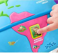 Интерактивная игрушка Fisher Price Умный глобус с технологией Smart Stages более 100 песен (рус.), фото 3