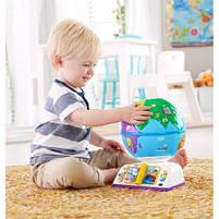 Интерактивная игрушка Fisher Price Умный глобус с технологией Smart Stages более 100 песен (рус.), фото 5