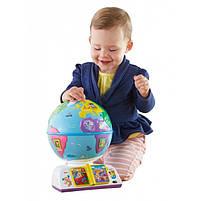Интерактивная игрушка Fisher Price Умный глобус с технологией Smart Stages более 100 песен (рус.), фото 6
