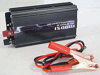 Автомобильный инвертор, преобразователь напряжения TBE 12/220 1500w, фото 1