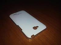 Чехол накладка LG L70 Dual D320 D325 белая панель на заднюю крышку