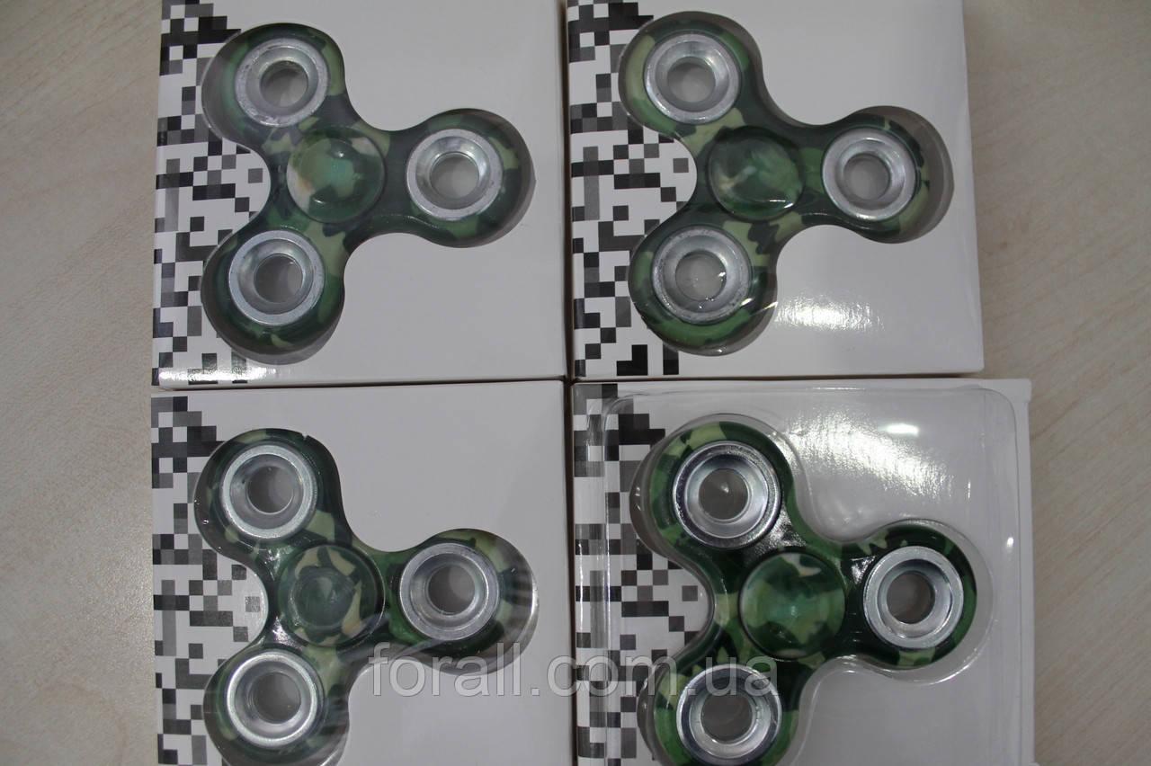 Спиннер / Спинер / Fidget spinner / камуфляж.
